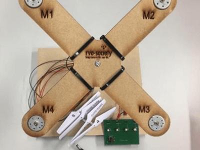 Drones & Science onderzoek een drone - werkbundels
